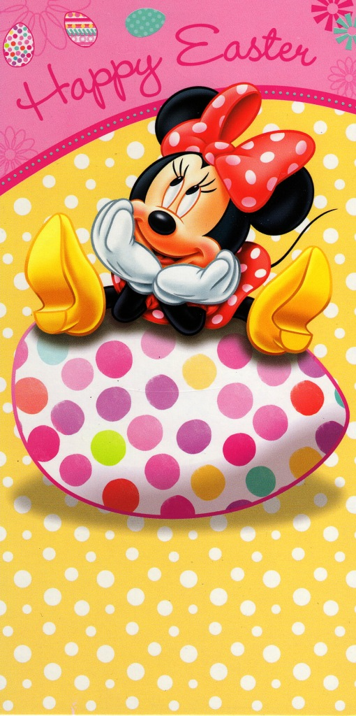 Disney Minnie Mouse Happy Easter Money Wallet Gift Card ...