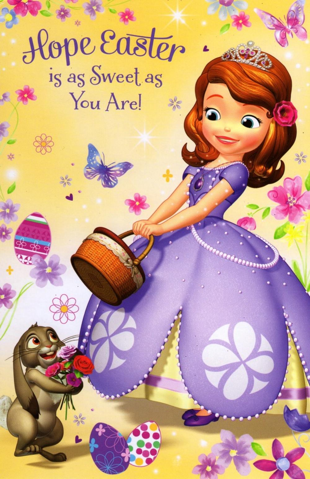 Disney happy easter greeting card with stickers inside cards disney happy easter greeting card with stickers inside m4hsunfo