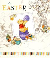 Disney Winnie The Pooh It's Easter Greeting Card