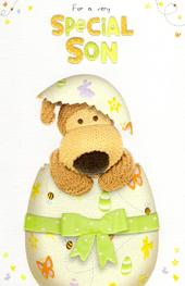 Boofle Special Son Happy Easter Greeting Card