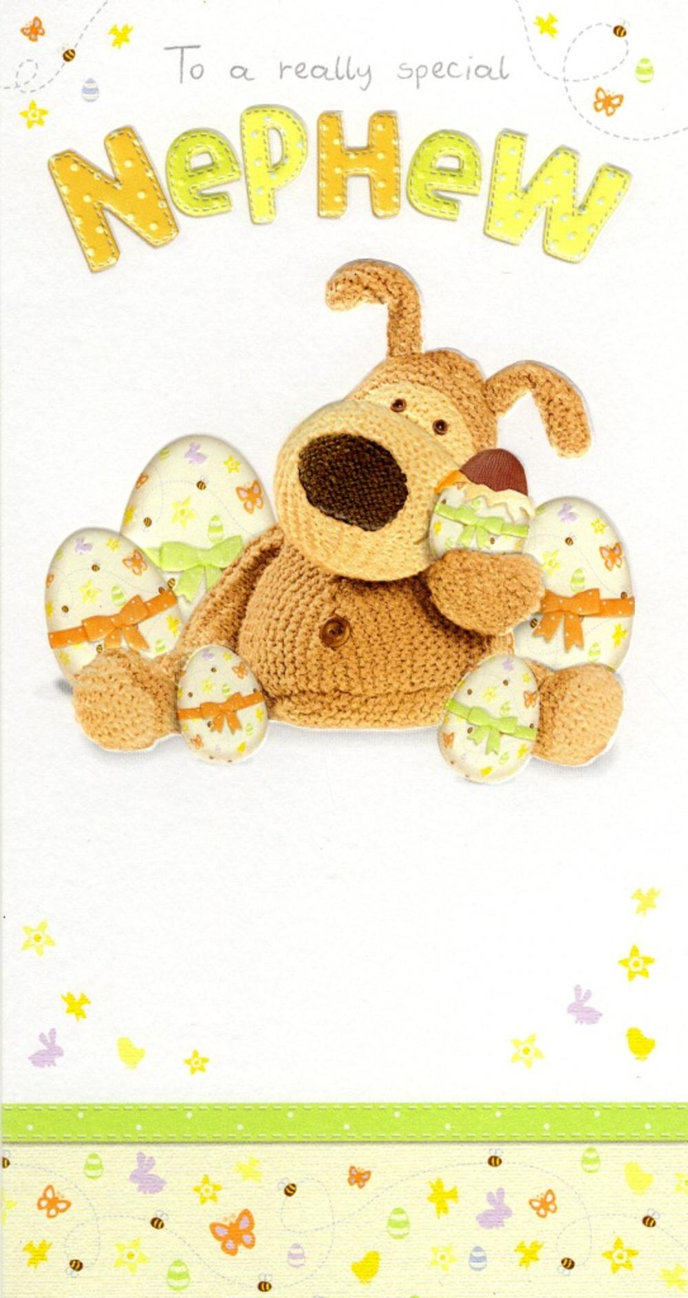 Boofle Special Nephew Happy Easter Greeting Card Cards Love Kates
