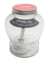 Splosh Love Notes Memory Jar Gift Idea