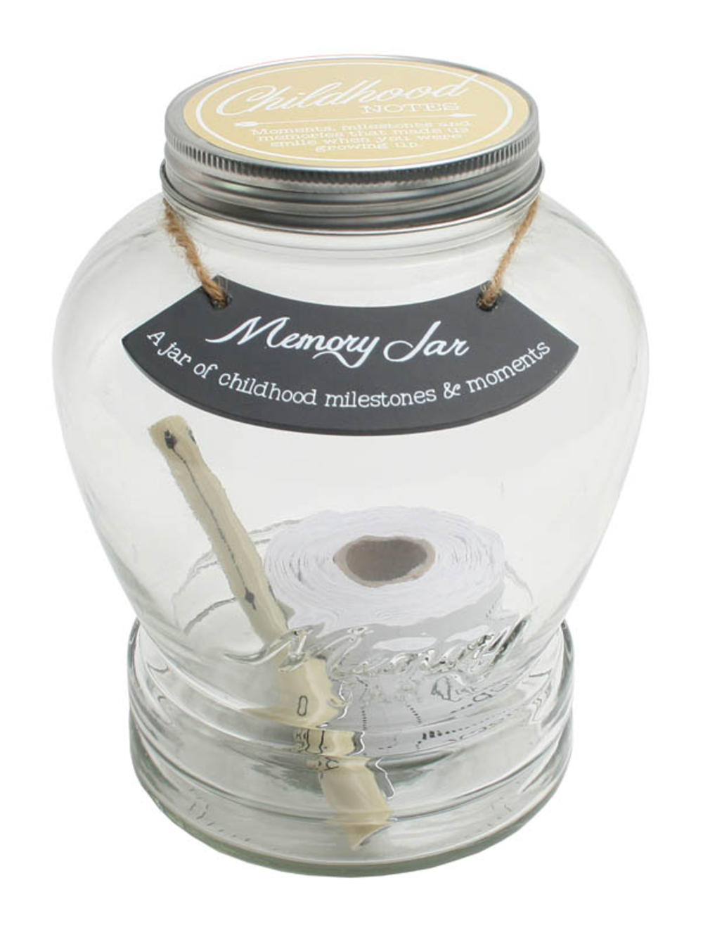 Splosh Childhood Notes Memory Jar Gift Idea