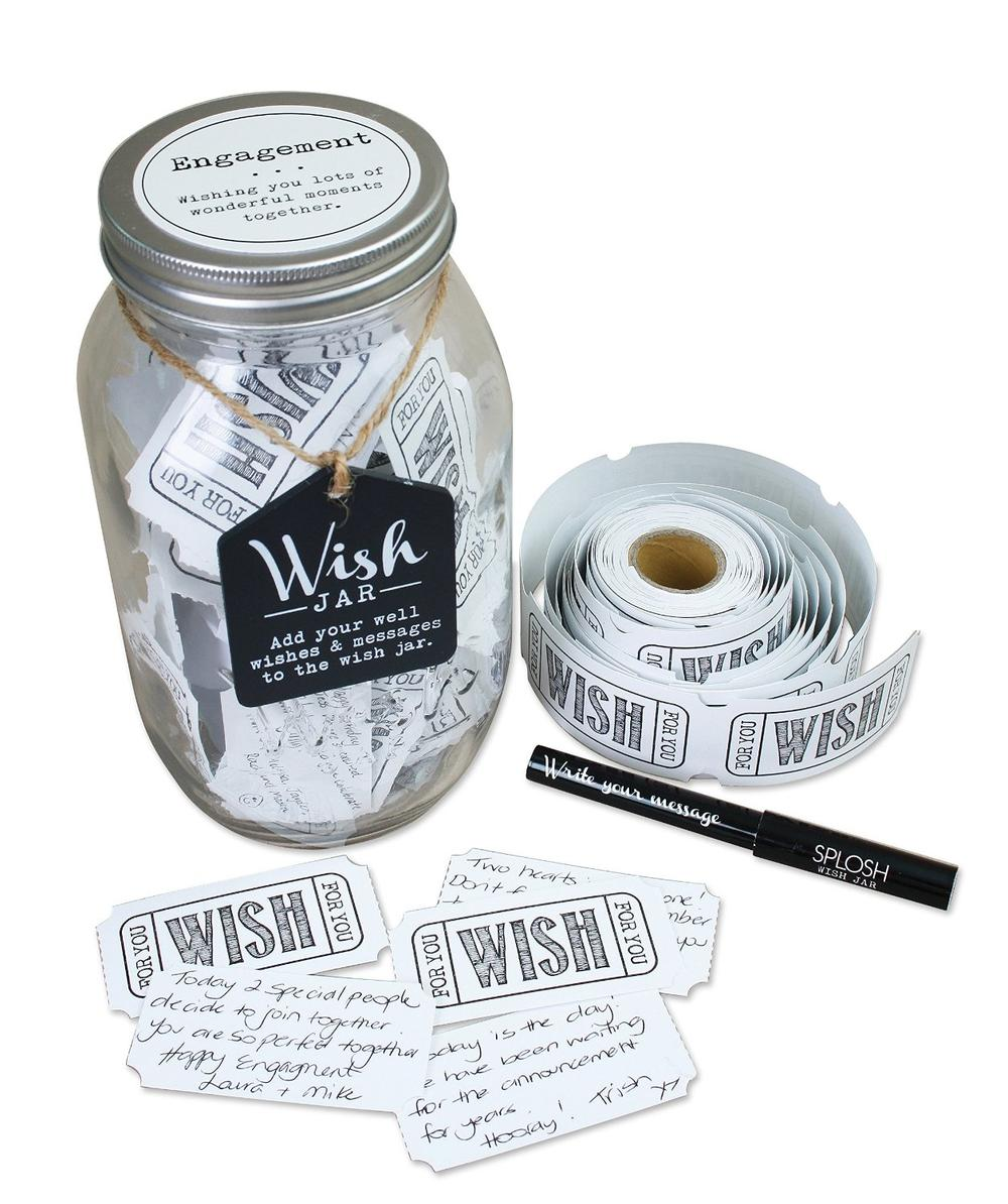 Splosh Engagement Wish Jar Gift Idea