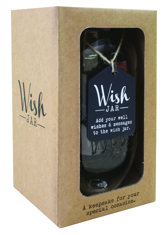 Sentinel Splosh Wedding Wish Jar Gift Idea Jars Hold Special Wishes Messages Inside