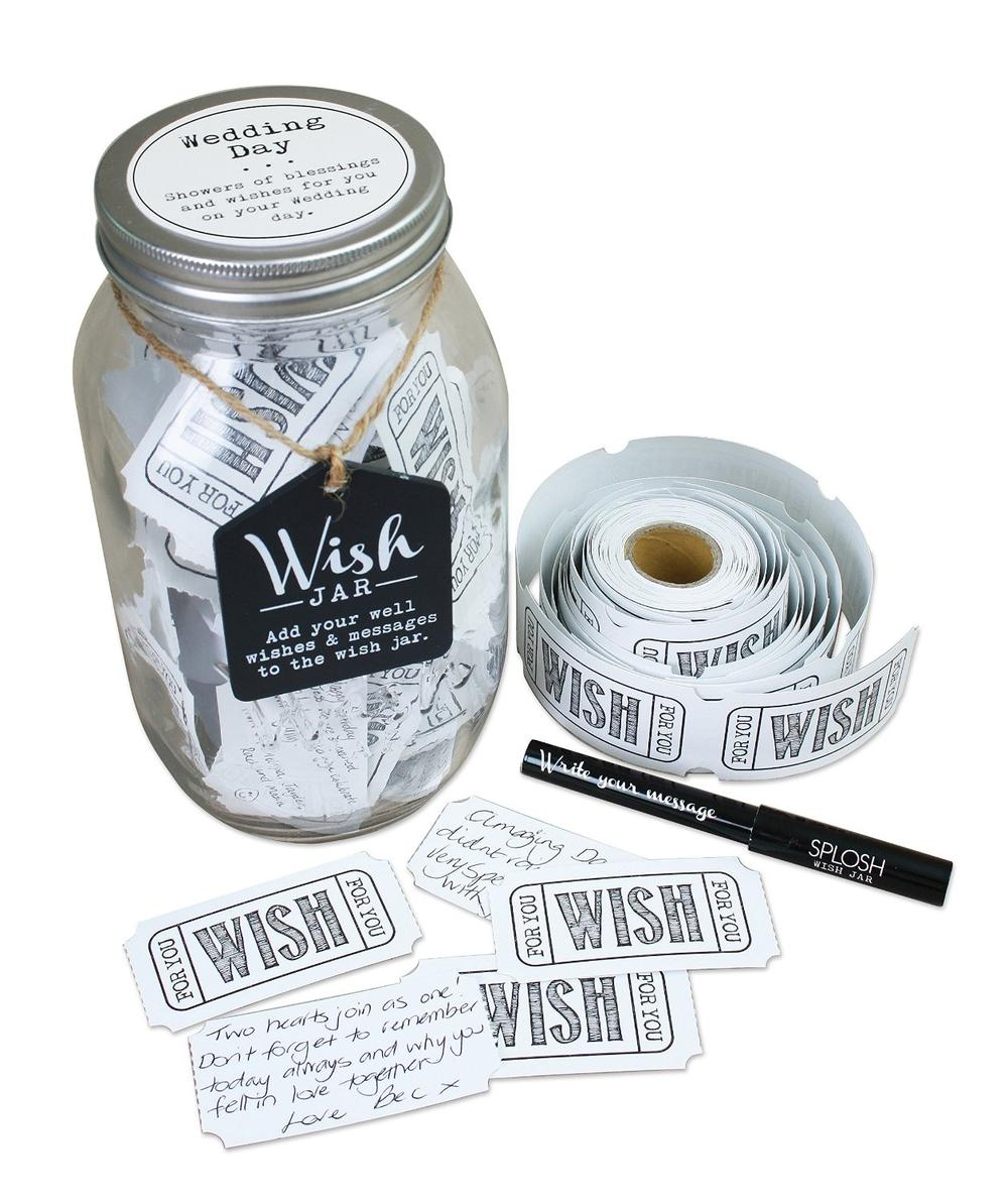 Splosh Wedding Wish Jar Gift Idea