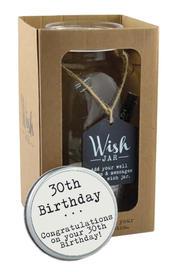 Splosh 30th Birthday Wish Jar Gift Idea
