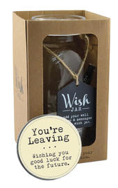 Splosh You're Leaving Wish Jar Gift Idea