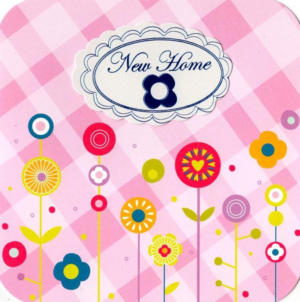 New Home Hand-Finished Tag Tastic Card
