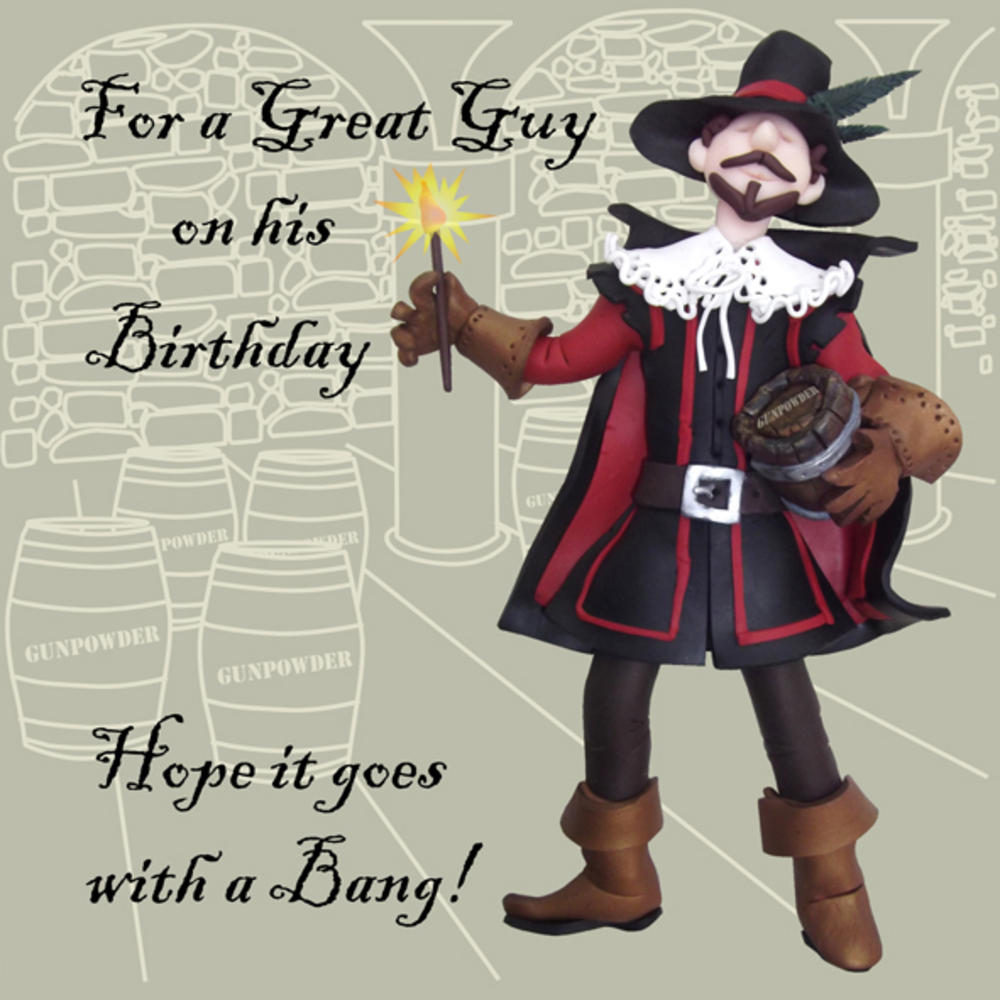 A Great Guy Funny Olde Worlde Birthday Card