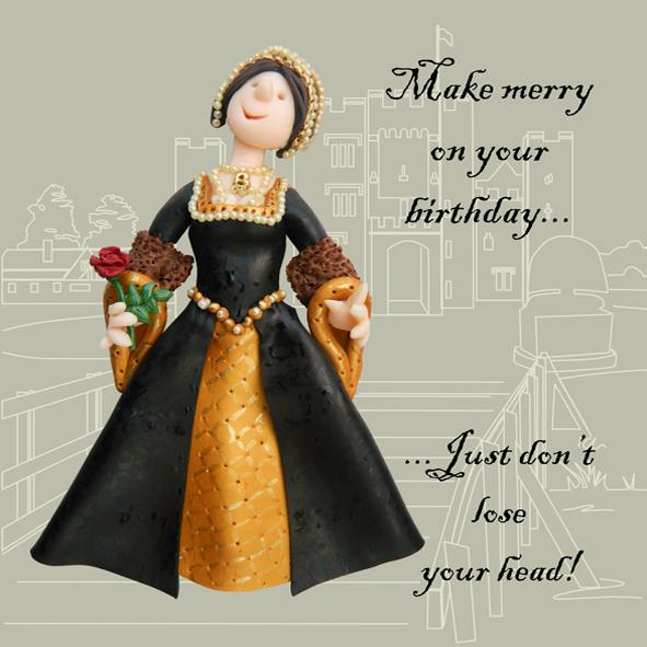 Make Merry Funny Olde Worlde Birthday Card
