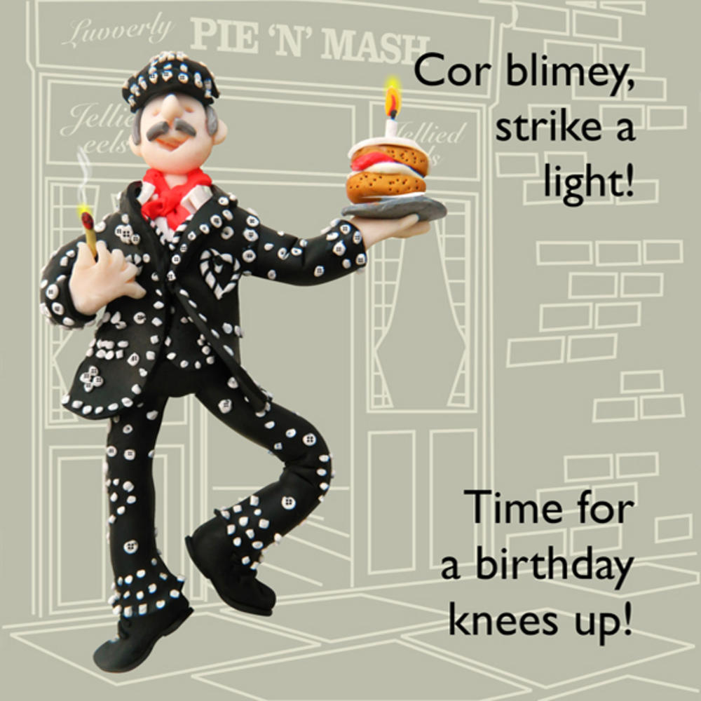 Cor Blimey Funny Olde Worlde Birthday Card