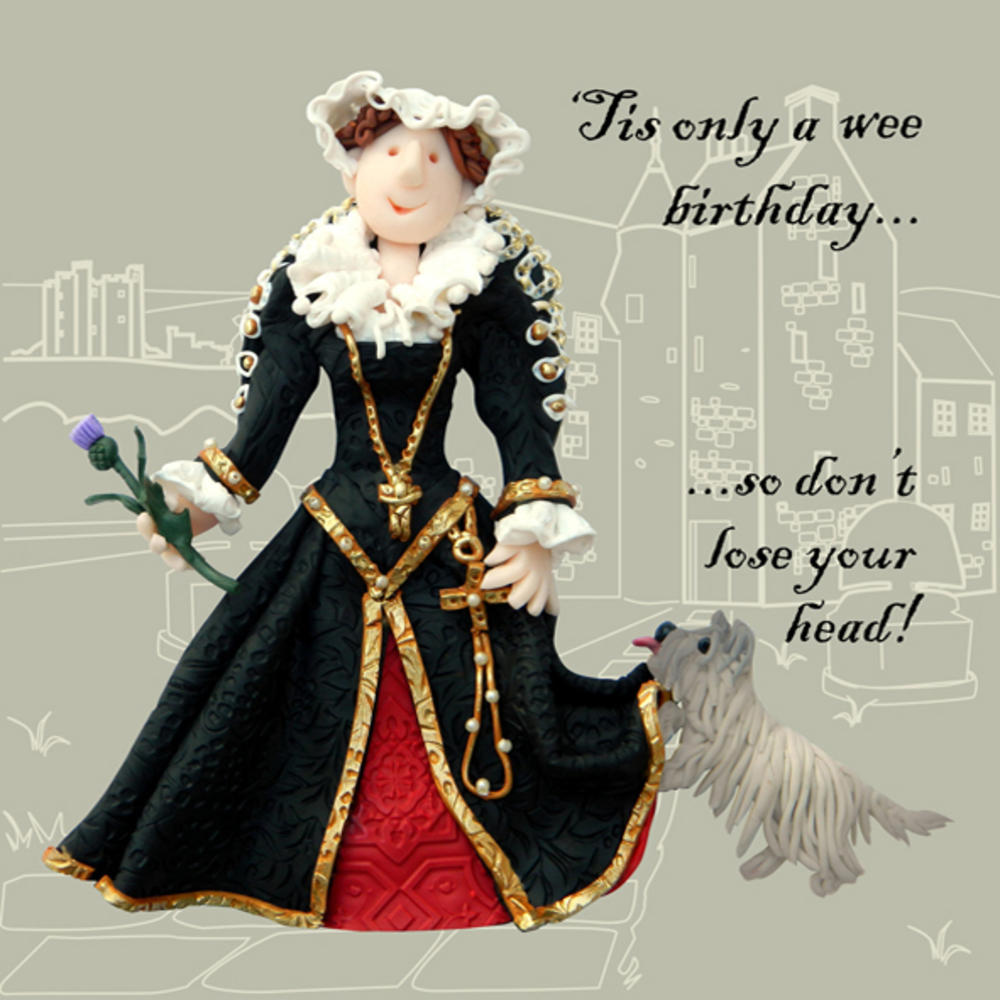 Wee Birthday Funny Olde Worlde Birthday Card