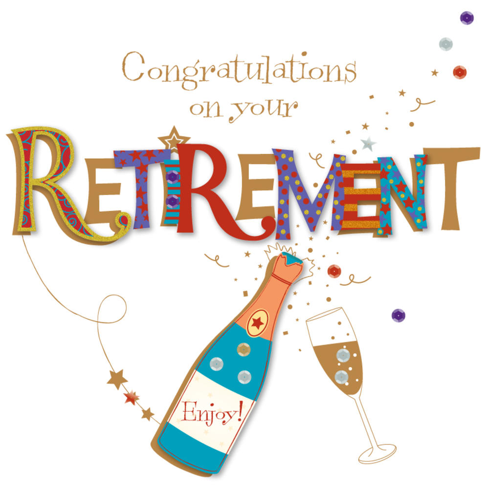 Congratulations on your retirement greeting card cards love kates congratulations on your retirement greeting card m4hsunfo