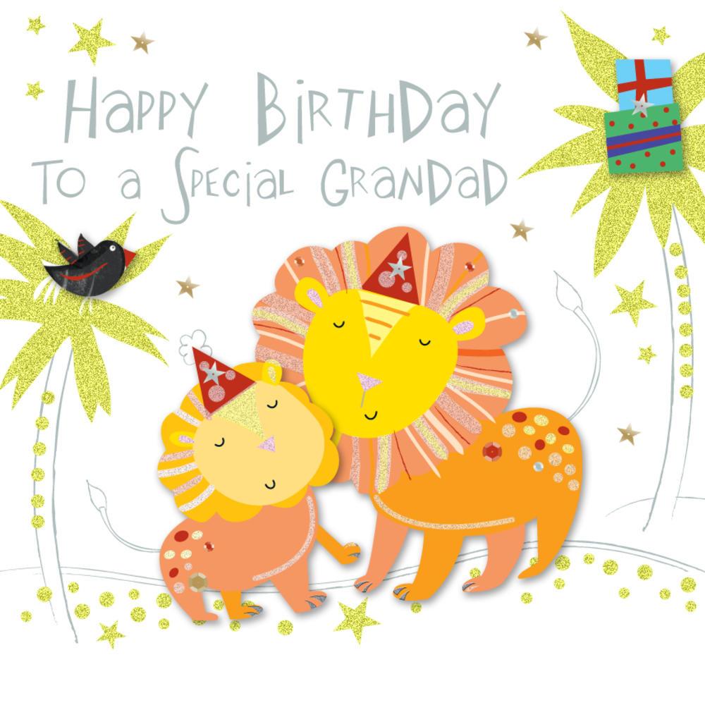 Special Grandad Happy Birthday Greeting Card