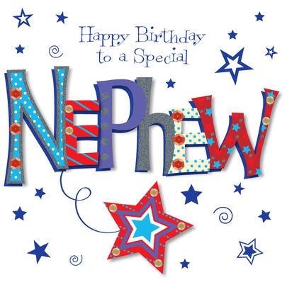 Special Nephew Happy Birthday Greeting Card