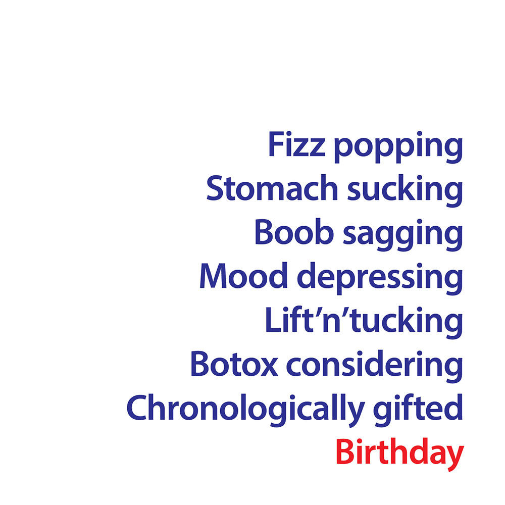 Fizz Popping Birthday Greeting Card
