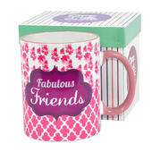 Fabulous Friends Off The Cuff Mug In Gift Box