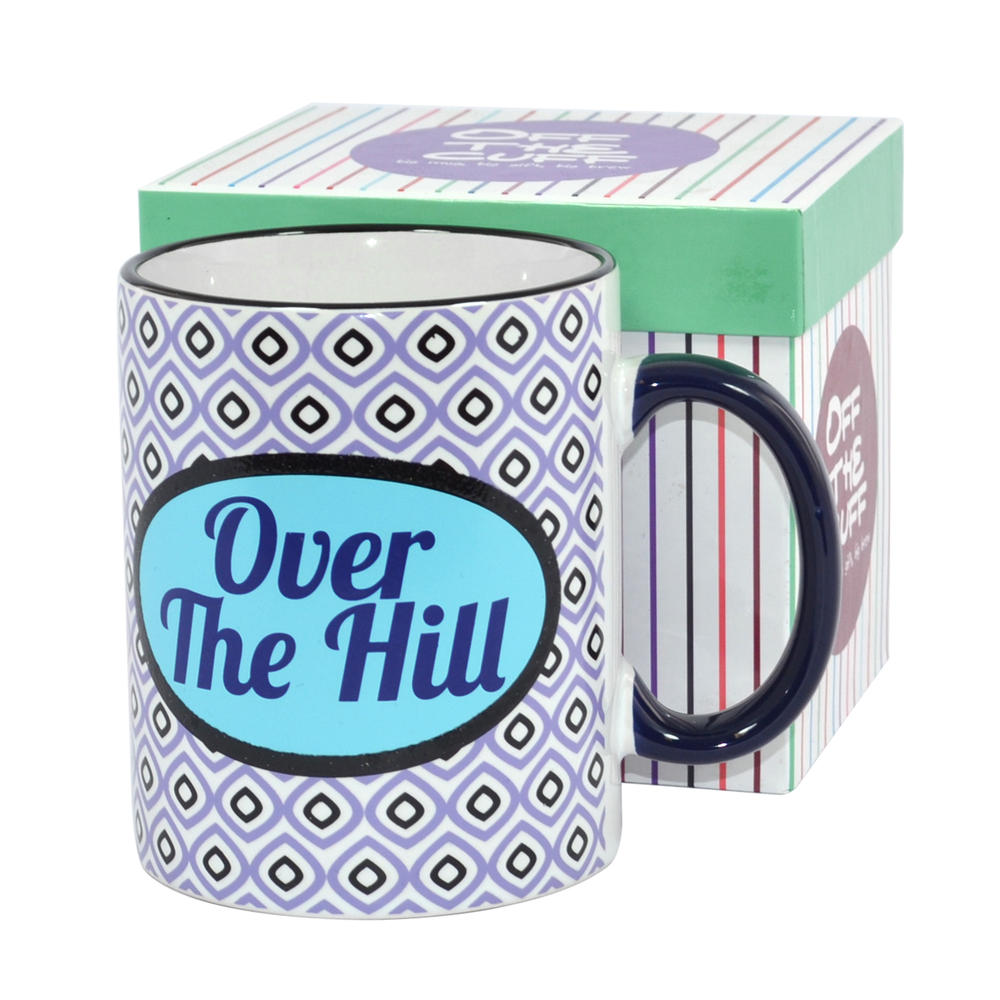 Over The Hill Off The Cuff Mug In Gift Box