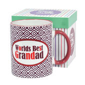 Worlds Best Grandad Off The Cuff Mug In Gift Box