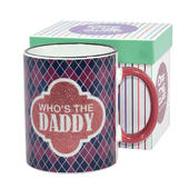 Who's The Daddy Off The Cuff Mug In Gift Box