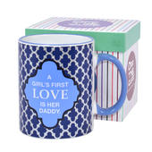 A Girl's First Love Is Her Daddy Off The Cuff Mug In Gift Box