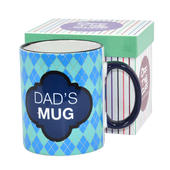Dad's Mug Off The Cuff Mug In Gift Box