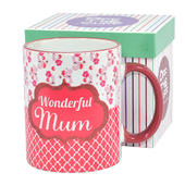 Wonderful Mum Off The Cuff Mug In Gift Box