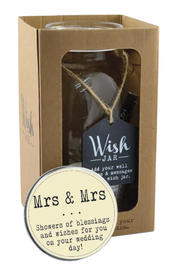 Splosh Mrs & Mrs Wish Jar Gift Idea