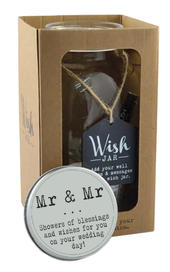 Splosh Mr & Mr Wish Jar Gift Idea
