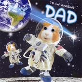 Out Of This World Dad Father's Day Card