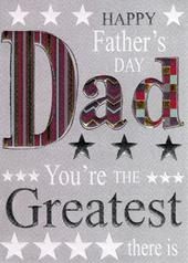 You're The Greatest Dad Happy Father's Day Card