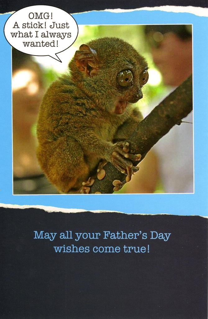 Funny Wishes Come True Happy Father's Day Card | Cards
