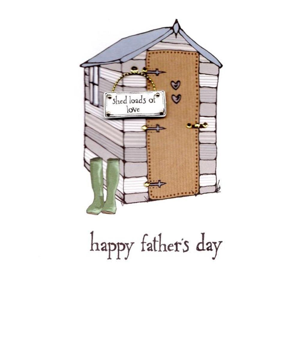 Shed Loads Of Love Happy Father's Day Card