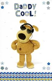Boofle Daddy Cool Happy Father's Day Card