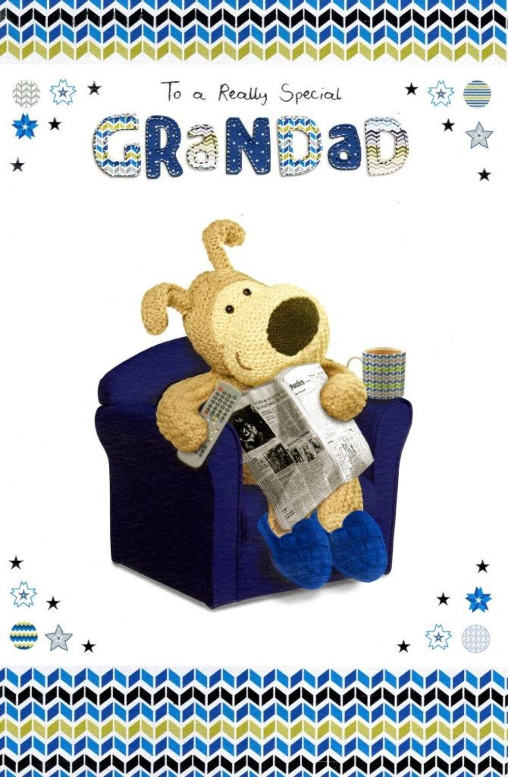 Boofle Really Special Grandad Happy Father's Day Card
