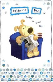 Boofle Cute Happy Father's Day Card
