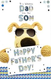 Boofle Wonderful Dad From Your Son Happy Father's Day Card