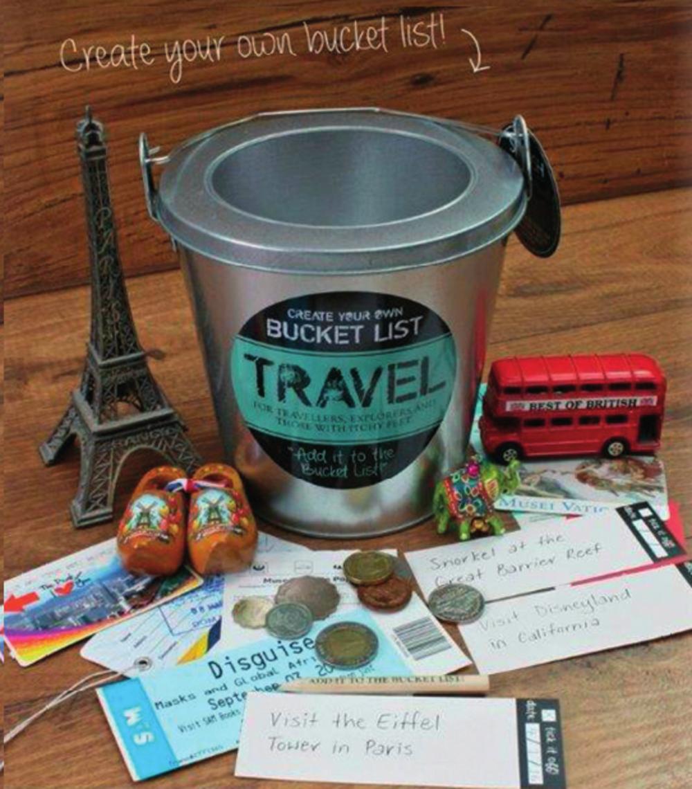 Splosh Travel Bucket List Gift Idea
