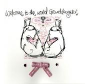 Welcome New Baby Granddaughter Embellished Greeting Card