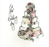 On Your Wedding Day Embellished Greeting Card