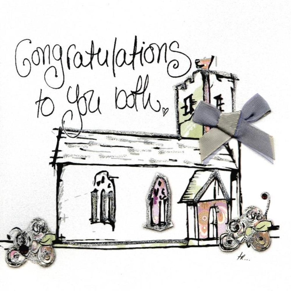 Congratulations To You Both Wedding Day Greeting Card
