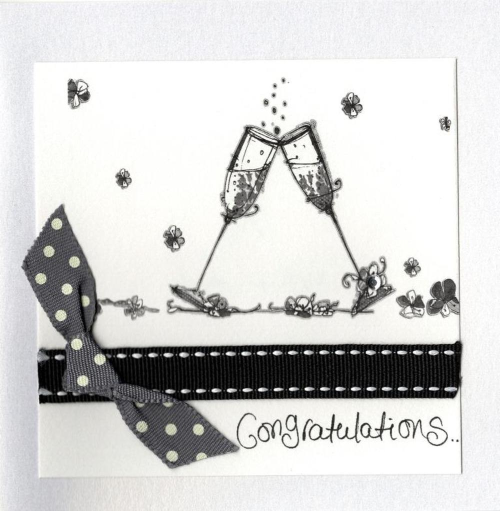 Congratulations Embellished Greeting Card