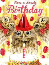 Make A Wish Googlies Birthday Card