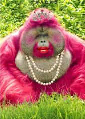 Queen Ape Blank Greeting Card