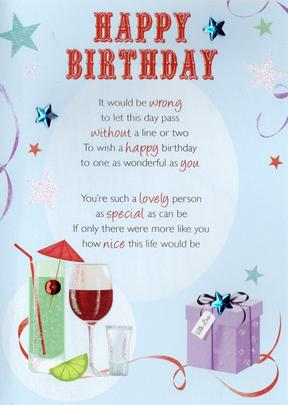 Lovely Happy Birthday Greeting Card