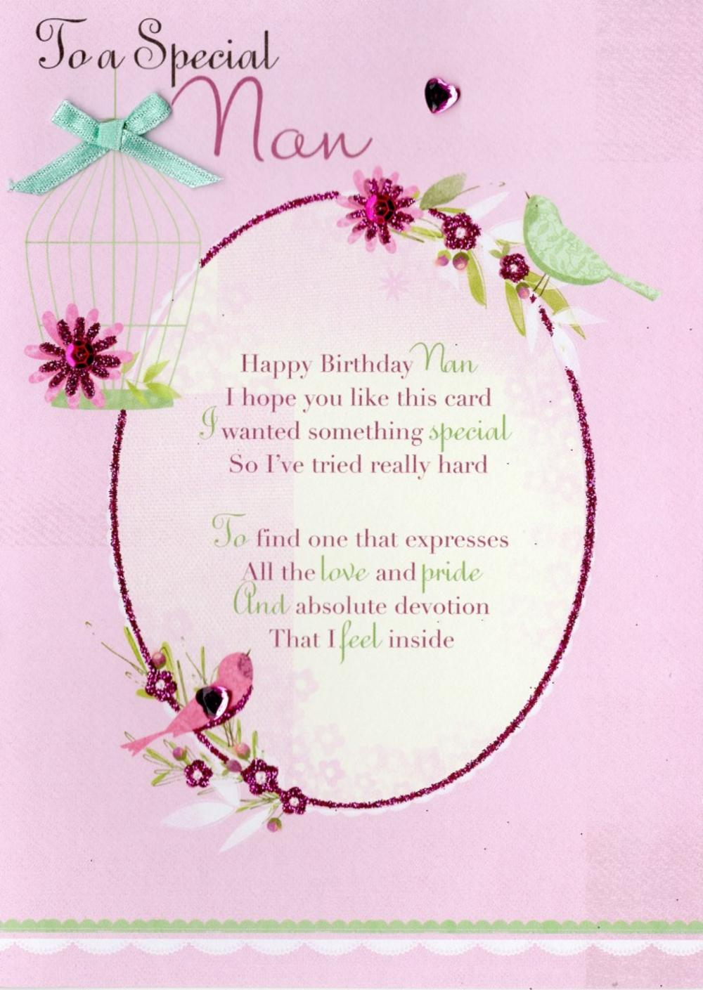 Special Grandma Birthday Greeting Card Cards Love Kates