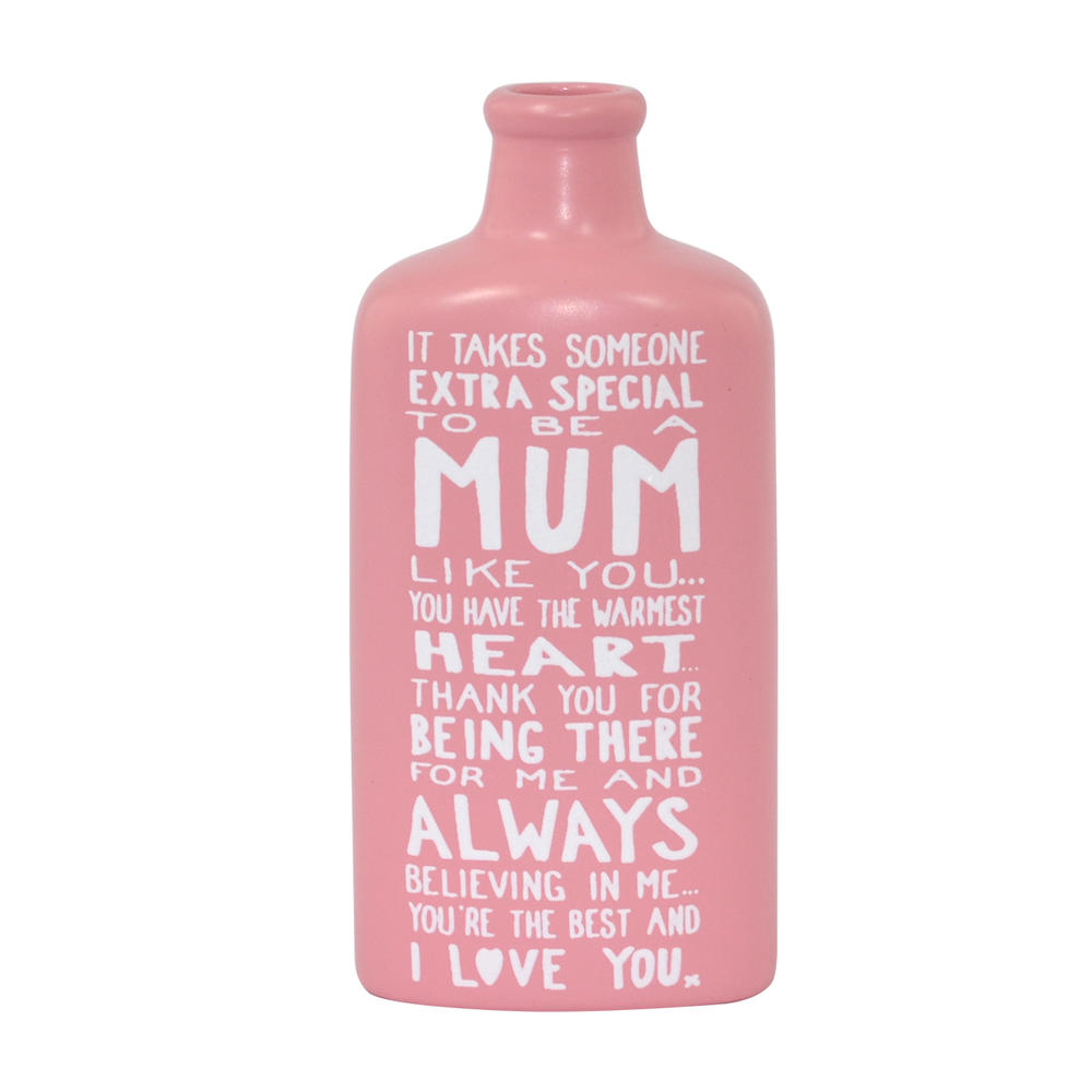 Special Mum Message On A Bottle Gift