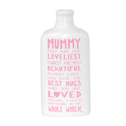 Loveliest Mummy Message On A Bottle Gift