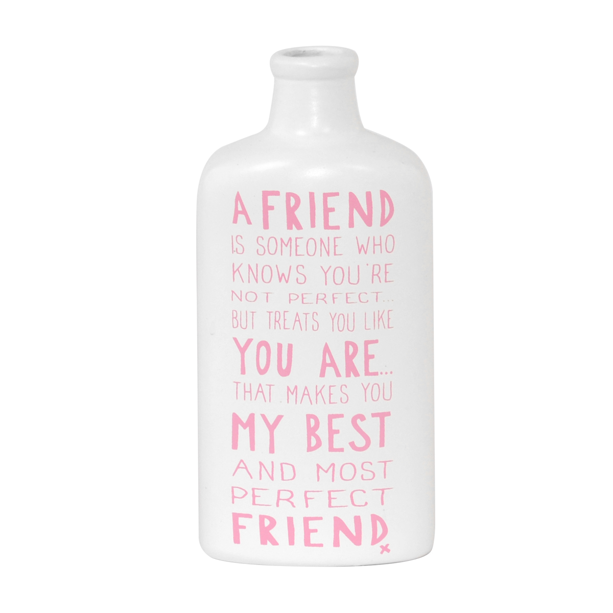 perfect friend message on a bottle gift gifts